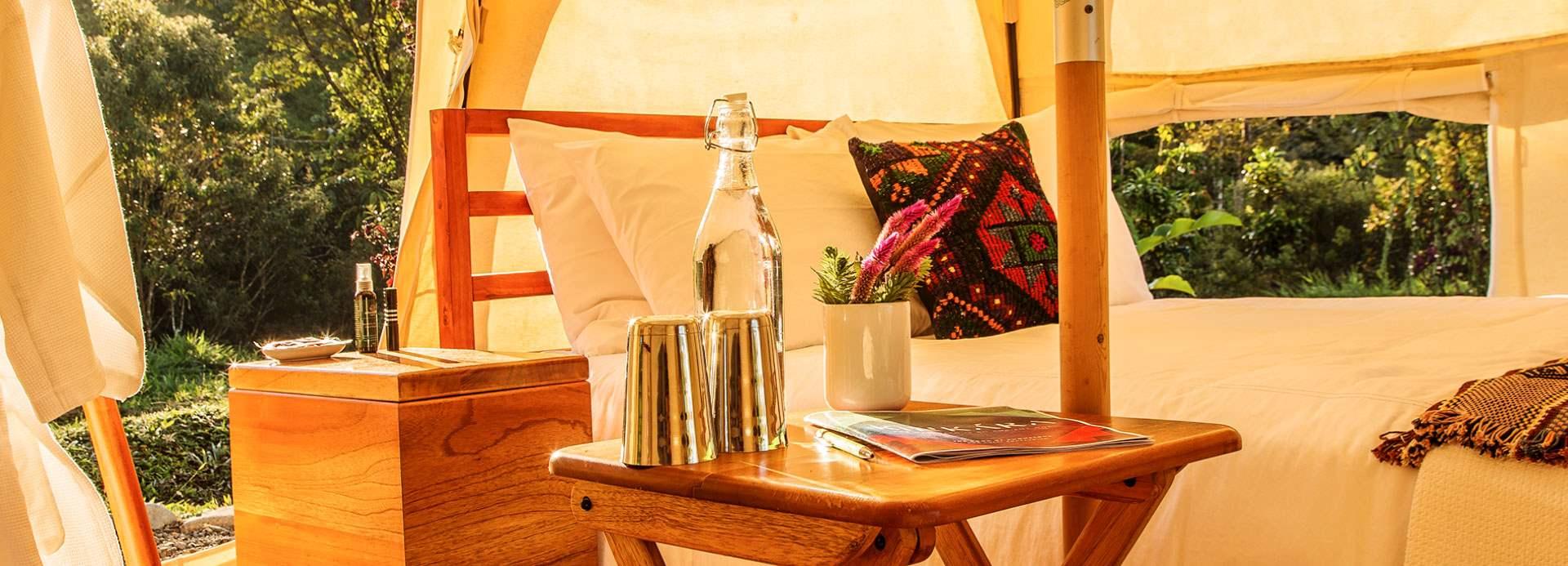 Immersive Tent Suites at Kinkara Santa Elena
