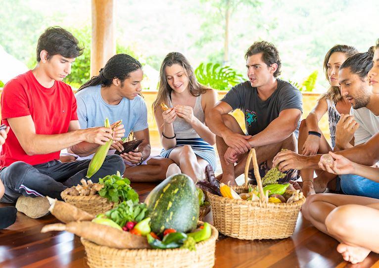 diversidad hace una experiencia gastronómica variada en kinkara