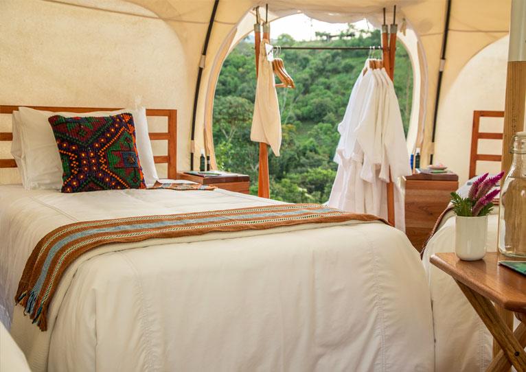 Lotus Belle Tents at Kinkara Luxury Retreat Santa Elena, San Jose